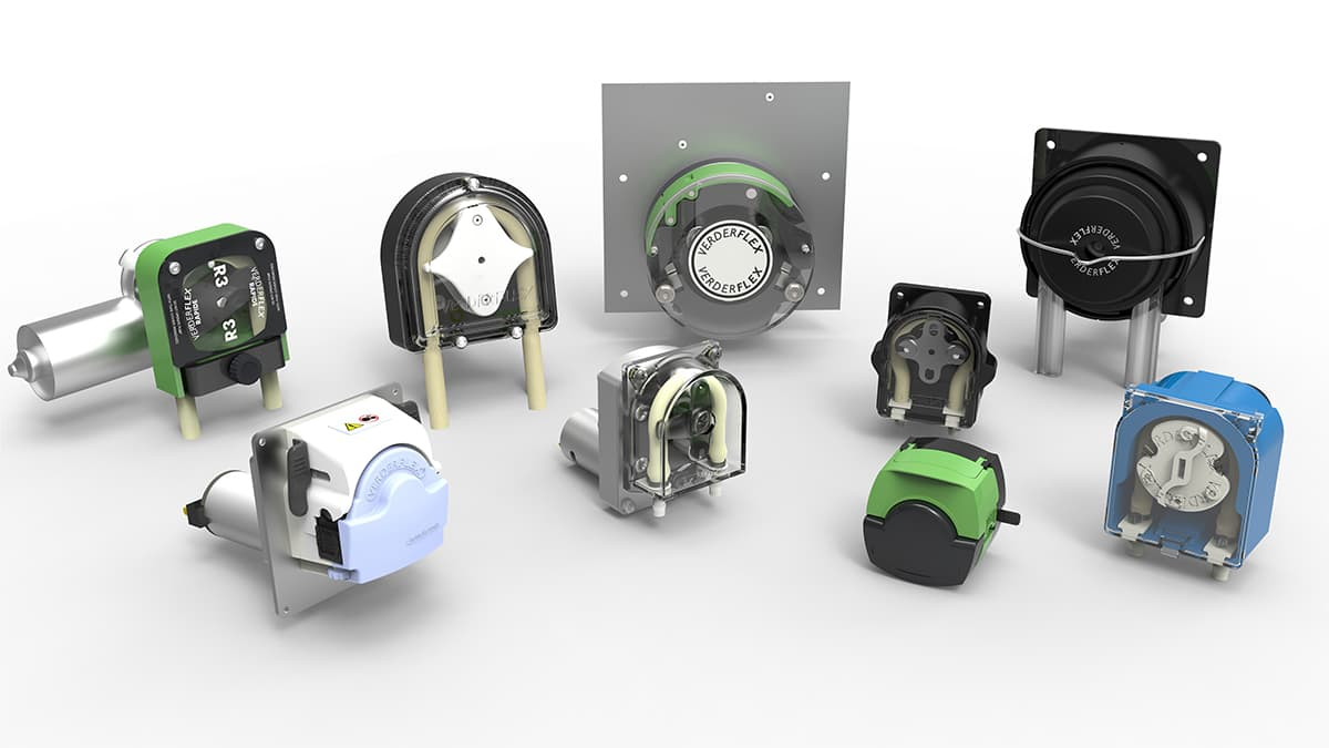 The Verderflex Peristaltic OEM Pumps Family (c) The Verder Group